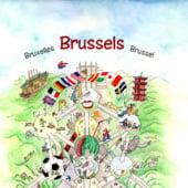 """""""Wimmelbuch (Bruxelles, Brussels, Brussel)"""" von Katrin Wähner"""