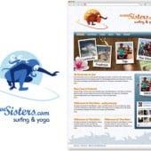 """""""WaveSisters.com"""" von JM Grafik"""