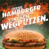 """""""Burger King – Anzeigen, TV-Spots, POS"""" von Veit Schumacher"""