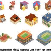 """""""Gameillustration"""" von Ines Korth"""