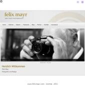 """""""Webdesign"""" von Felix Mayr"""