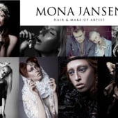 """Hair- & Make-up Artist Mona Jansen"" von Mona Jansen"