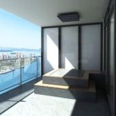 """""""Privatwohnung-Interior, Miami"""" von Render Vision"""