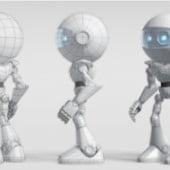 """""""OrbyBot – 3D Charakter"""" von Patrick Schürfeld"""