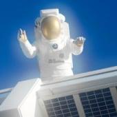 """""""Kennedy Space Center (Freie Arbeit)"""" von Wolfram Scheible"""