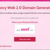 """Fancy Web 2.0 Domain Generator"" von Florian Herzog"