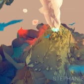 «Low Poly Landscapes» von Stephanie Stutz