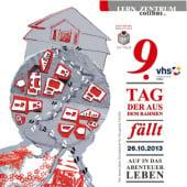 """""""Plakat 9. Tag, der aus dem Rahmen fällt"""" von Gabi Schluttig"""