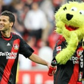 """My Mascot for Bayer 04"" von Lyonn Redd"
