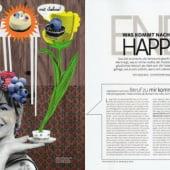 """Editorial Illu 03"" von Bürgie Illustration & Grafikdesign"