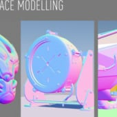 """""""Hard Surface Modelling"""" von Andreas Kippes"""