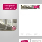 """Corporate Identity Sabine Wöppel homestaging"" von Dana Del Priore"