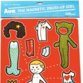 """Magnetic dress-up doll"" von Judith Drews / Atelier Flora"