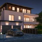 """""""Mehrfamilienhaus 3D Architektur"""" von Render Vision"""