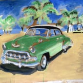 """Acrylic Paintings, automotive,.."" von Brent Debecker"