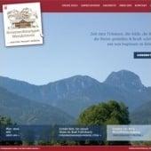 """""""Website www.ferienwohnungen-wendelstein.com"""" von Indiworx"""