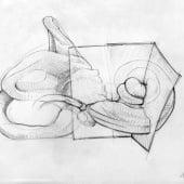 """MED-EL (OP-Skizzen, Illus, Storyboard)"" von Karl Heppe"