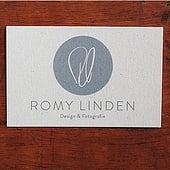 """""""Visitenkarte Romy Linden"""" von Julia Diederich"""