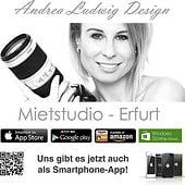 """""""Mietstudio Erfurt"""" von Andrea Ludwig Design"""