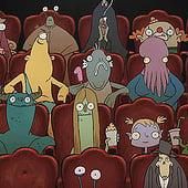 """""""Klops, 2D Animation/Kurzfilm"""" von Bianca Meier"""