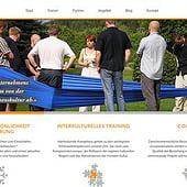 """Communis Seminare – Multilinguale Webseite & Blo"" von Sebastian Starke"