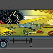 «FREITAG design-a-truck-contest» von Angst Grafikdesign