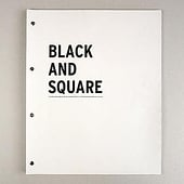 """BLACK AND SQUARE, Editorial Design"" von Elena Perschin"