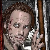 """Walking Dead: Rick Grimes"" from Kenneth Shinabery"