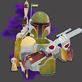 """Star Wars: Boba Fett"" von Kenneth Shinabery"