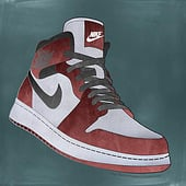 """Nike Air Jordan"" von Kenneth Shinabery"