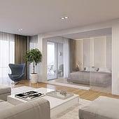 """""""Wohnung Interieur 3D Visualisierung, Aschaffenbu"""" von Render Vision"""