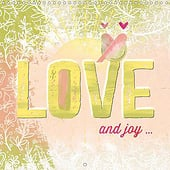 """Love and Joy / (Monthly calendar, 14 pages)"" von Susanne Sachers"