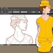 """Fashion / Editorial Illustrations"" von Kenneth Shinabery"
