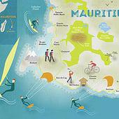 «Illustrierte Karten» de Illus | Icons | Infografiken