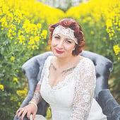 """""""Hochzeit Brautstyling"""" von Lilly van Leo"""