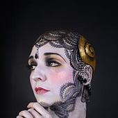 """""""freie Maskenbildnerische Arbeit"""" von Veronika Knigge"""