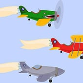 """Adventure Planes"" from Kenneth Shinabery"