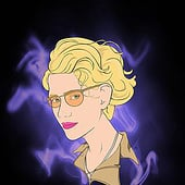 """GHOSTBUSTERS—JILLIAN HOLTZMANN (KATE McKINNON)"" from Kenneth Shinabery"
