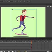 """Marty McFly Animate CC Test"" von Kenneth Shinabery"