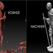 """""""Nachbearbeitung von 3D Scans"""" von Udo Graf"""
