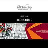 """Broschüre"" von Elke van den Berg | Dipl. Grafik-Designerin | Werbung & Design"