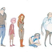 "Designers: ""Character Sketches"" from Lisa Henke"