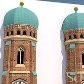 """""""Münchner Frauenkirche"""" von SchwinnMedia"""