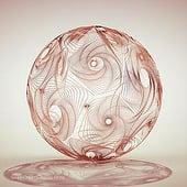 """""""Spiralkugel"""" von Thomas Helzle"""