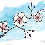 """""""Pflanzenillustrationen"""" von Stil auf ganzer Linie"""