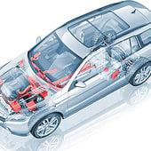 """""""3D-Visualisierung: transparentes Auto"""" von AG Visualisierung / Studio für 3D…"""