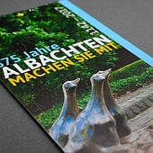 """Flyer: 875 Jahre Albachten"" from Hohmann Design"