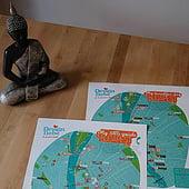 """Stadtkarte ""My little guide to Budapest Vol.1"" von Aramis Skorzitza"