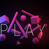 """Play with shapes"" von Rüdiger Lauktien"