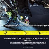 """Salewa – Website (getvertical-Kampagne)"" from Veit Schumacher"